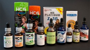 Different HCG Weight Loss Products