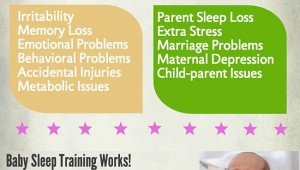 What You Need to Know About Baby Sleep Problems [Infographic]