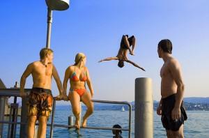 Swimming Lake Zürich